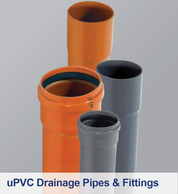 uPVC Drainage Pipes & Fittings