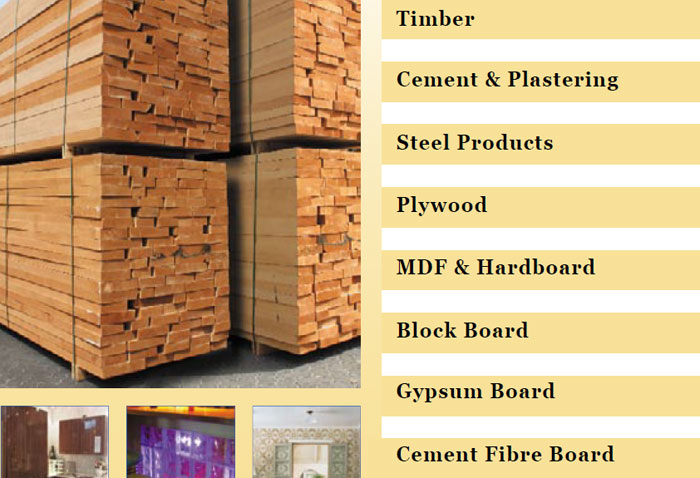 Building Materials And D 233 Cor Products Al Rahmani General