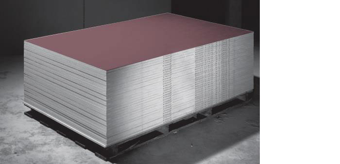 Fire Resistant Gypsum Board : Knauf fire resistant gypsum boards fr llc