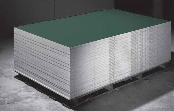 Knauf moisture resistant gypsum board mr h en bs