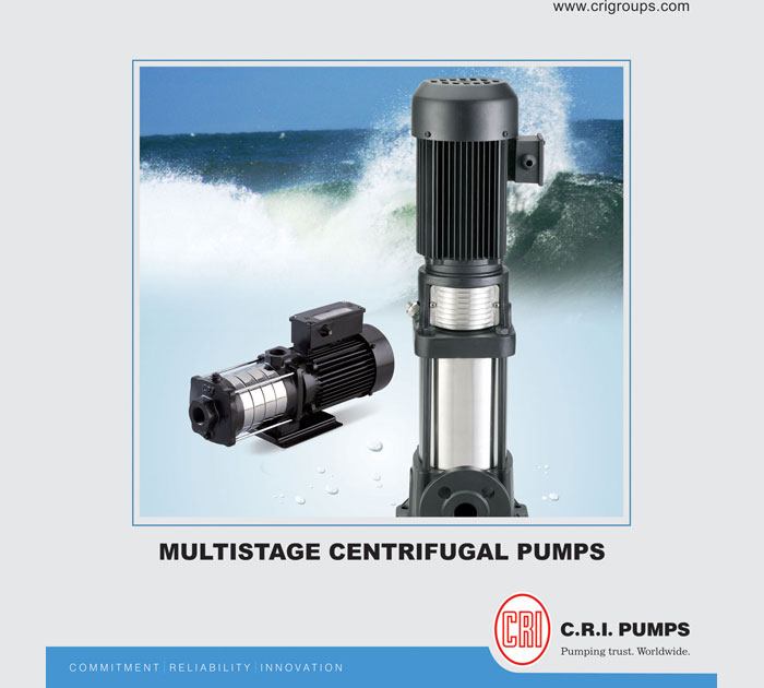 C R I  Horizontal & Vertical Multistage Pumps (C R I Pumps