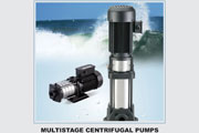 C.R.I. Horizontal & Vertical Multistage Pumps