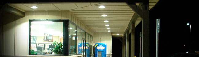 cree led soffit lights ruud lighting arabia llc