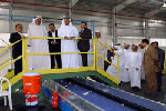 Middle Easts largest waste management plant commences operations.