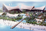 Al Habtoor Group to build an exotic Thai-Balinese luxury resort on Palm Jumeirah.