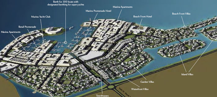 The wave project in muscat starts building of residential for Designhotel oman