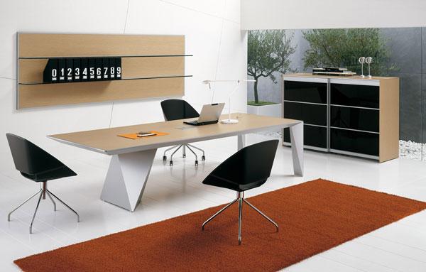 italian office desk. The Italian Touch At Office Exhibition 2008. Desk O