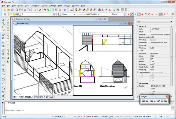 Cost efficient cad software for the engineering and for Online cad drawing software