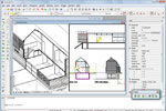 Cost efficient CAD software for the engineering and construction industry.