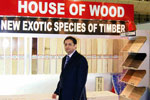 Danube launches House of Wood at Dubai Woodshow 2008.