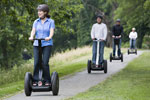 Segway picks up speed in the Middle East.