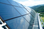 Powered by Nature - Solar heating system from Jacques Giordano Industries.