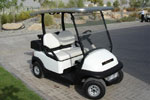 Hydroturf introduce the solar powered golf cart.