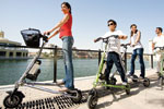 Trikke, the eco-friendly and lightweight personal transporter.
