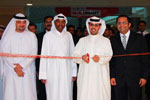 H.E. Eng. Hamad Buamim inaugurates AED 10 million Danube Buildmart in Dubai Festival City.