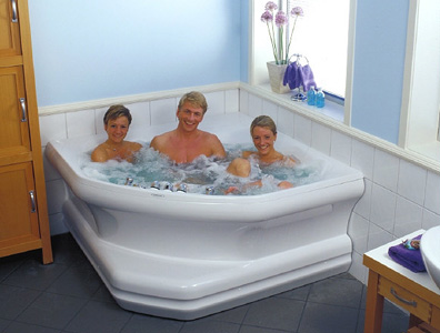 Hurricane Spa Bath 2150 Corner With Front Panel Fjordbad As