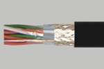 PVC Insulated Aluminium Foil and Braid Screened Multipair Cables - LiY(St)CY
