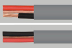 PVC Insulated, PVC Sheated with Circuit Protective Conductor, Flat Twin and 3-core Cables