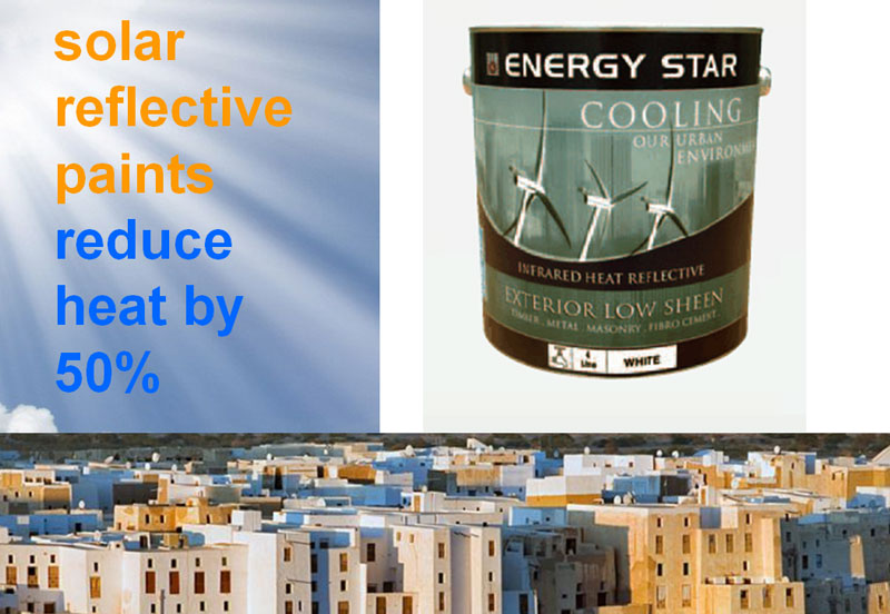 Energy Star - Infrared Heat Reflective Paint
