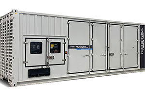 1MW Gas Generator Set:  Mobile, Silent and Low OPEX