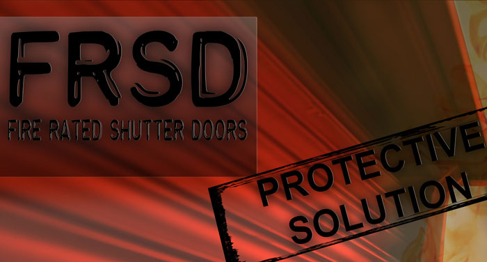 2 hours fire rated shutter doors