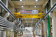 260 cranes and hoists at the high-capacity power plant Mannheim