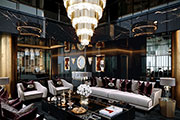 A Bold Project by the astonishing Celia Sawyer furnished by Covet House