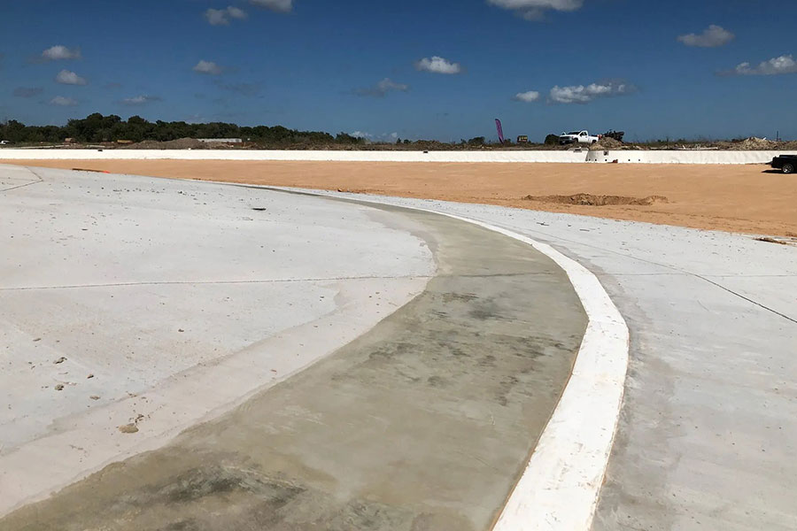 A Crystalline Waterproofing Solution For The Texas City Crystal Lagoon
