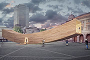 AHEC, Alison Brooks Architects and Arup to collaborate on 'The Smile' for the London Design Festival
