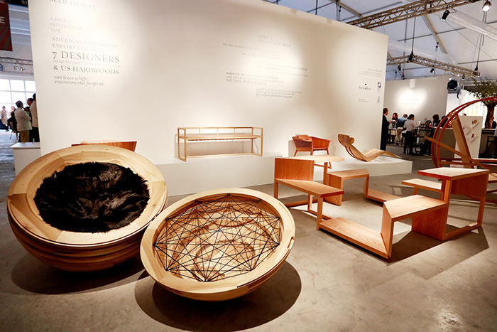 AHEC unveils  Seed to Seat  furniture collaborative at  Design Days Dubai. unveils  Seed to Seat  furniture collaborative at  Design Days Dubai