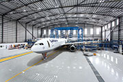 Aircraft Hangar Flooring Advice from Flowcrete Middle East