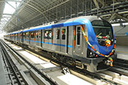 Alstom's first metro in India enters commercial service