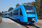 Alstom unveils its zero-emission train Coradia iLint at InnoTrans