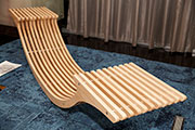 American hardwood seating installations steal the spotlight at Design Dine Donate, Dubai