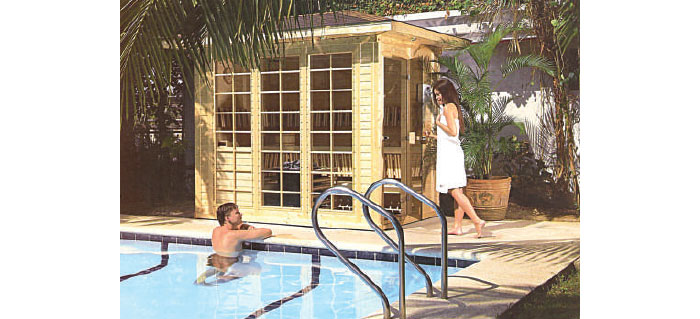 Sauna Rooms, Sauna Heaters, Steam Rooms and Steam Generators
