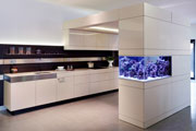 Aquafront - bringing the kitchen to life with integrated kitchen aquariums.