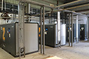 Atlas Copco ZDXtend high pressure compressed air system serves a major PET bottler in UAE