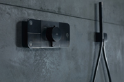 Axor One: A New Interactive Shower Control Element Designed by Barber & Osgerby