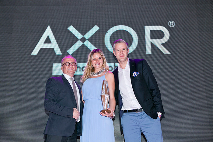 Axor Wins 2014 Harper's Bazaar Interiors Design Award for Best Bathroom Design