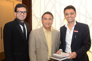 Batting Maestro-Sunil Gavaskar named the new brand ambassador of Danube.