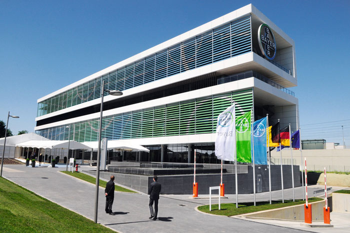 sustainable office building. bayer initiative for sustainable building honored at rio summit office b