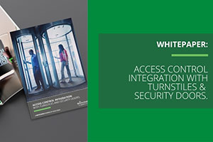 Boon Edam Best-Practices Whitepaper for Integrating Access Control with Security Entrances