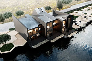 Breeze Park Homes Live On The Water With Penetron Protection