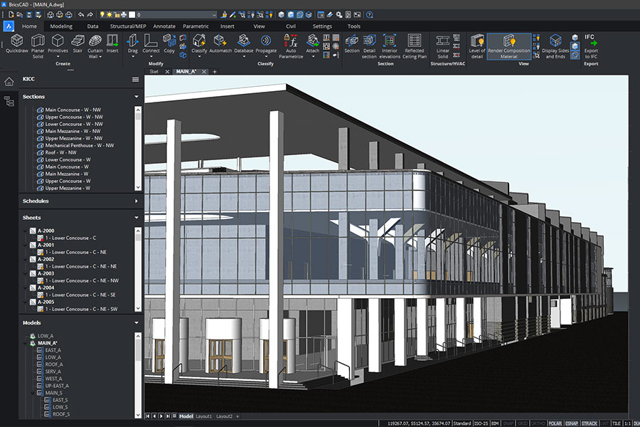BricsCAD V21 Is Here – The All in One Solution for 2D, 3D, BIM and Mechanical Design