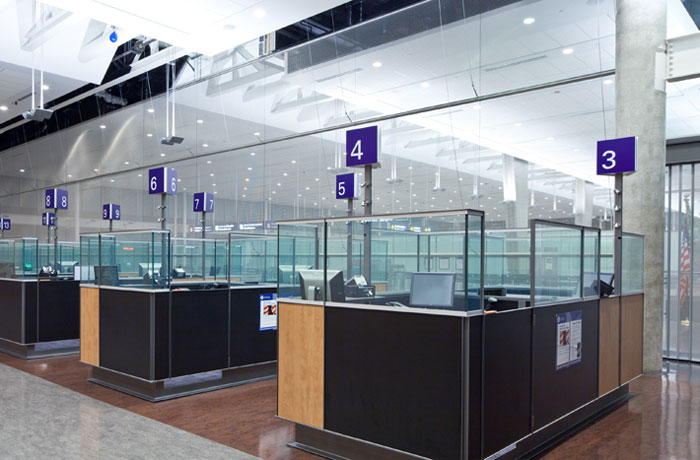 Cambridge Mesh Secures U S Customs Area Inside Montreal