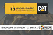 Caterpillar and Al-Bahar to showcase their lates at The Big 5 Heavy Exhibition