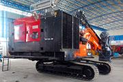 Chicago Pneumatic high pressure compressors support unique blast hole drilling machines in India