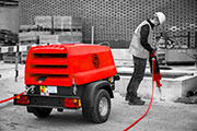 Chicago Pneumatic launches toughest ever range of portable compressors
