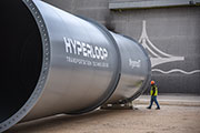 Construction Begins on World's First Full-Scale Hyperloop Passenger and Freight System