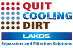 Cooling Tower Basin Cleaning with Lakos Filtration Solutions.